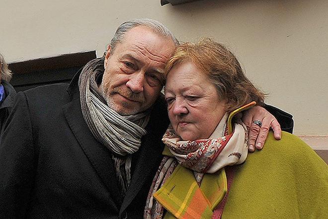 Мария Королева и Сергей Сенин