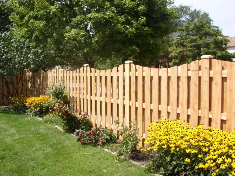 Забор для сада своими руками