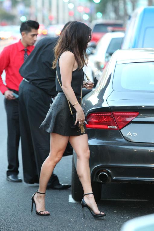 Vanessa hudgens mini skirt