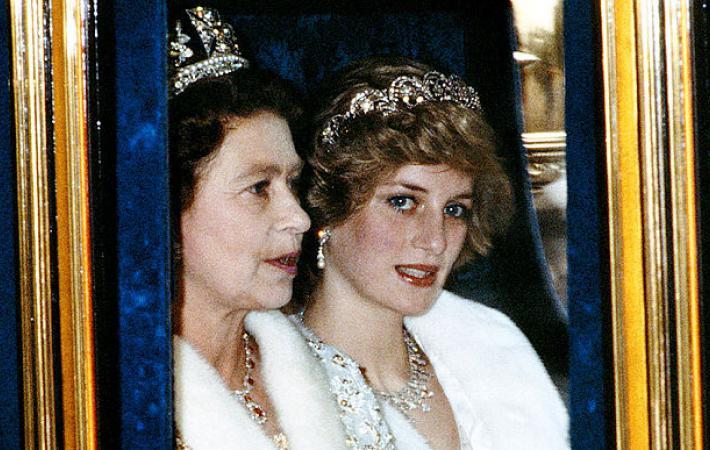 Отношения принцессы дианы и королевы елизаветы