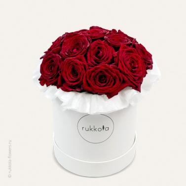 Бизнес цветы в коробках