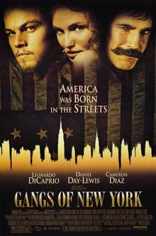 Gangs of new york meryl streep