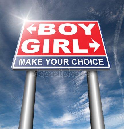 Знак мужчины и знак женщины