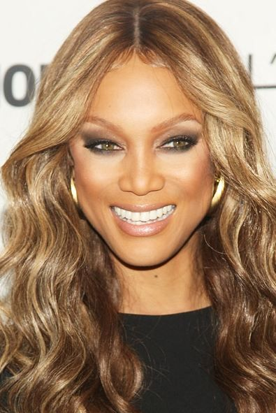 What color is tyra banks hair