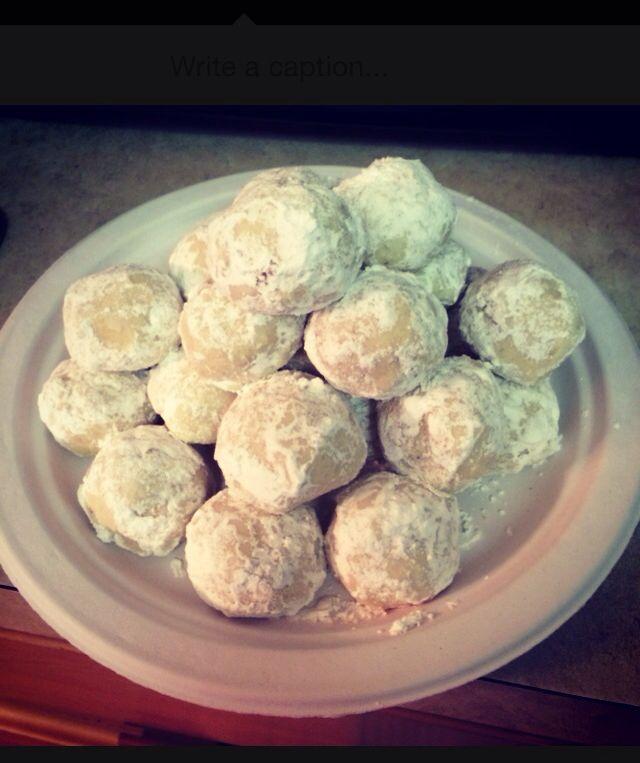 Kelly ripa mexican wedding cookies