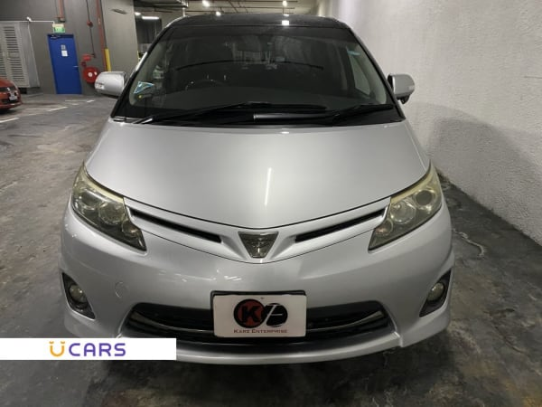 Used Toyota Estima 2 4a Aeras G Moonroof  New 10