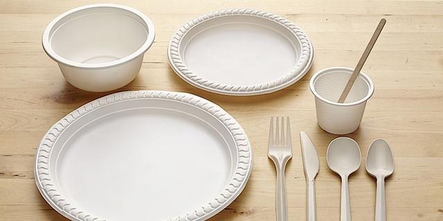 Биоразлагаемая одноразовая посуда