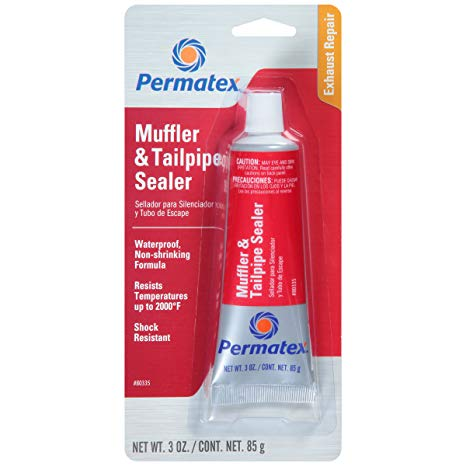 Permatex muffler tailpipe sealer