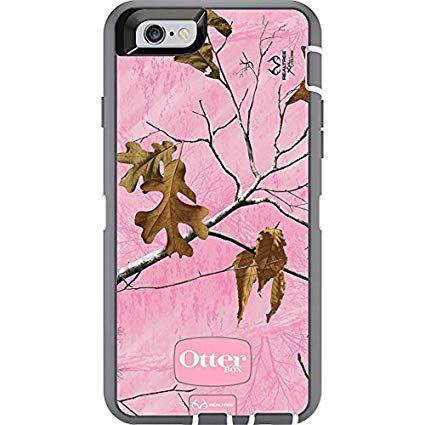 Pink camo otterbox iphone case