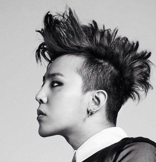 4. the Mohawk Korean Hairstyles