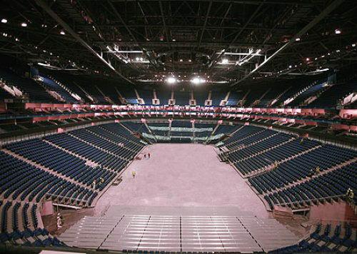 The O2 Arena London seating plan Basketball photo