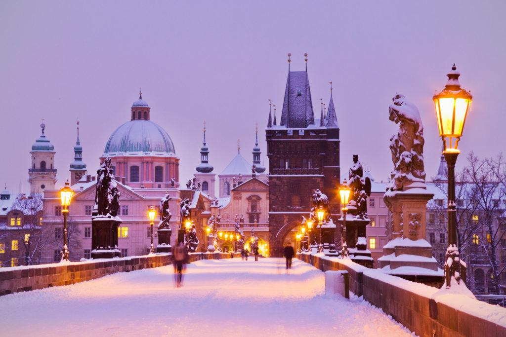 Отдых зимой в чехии
