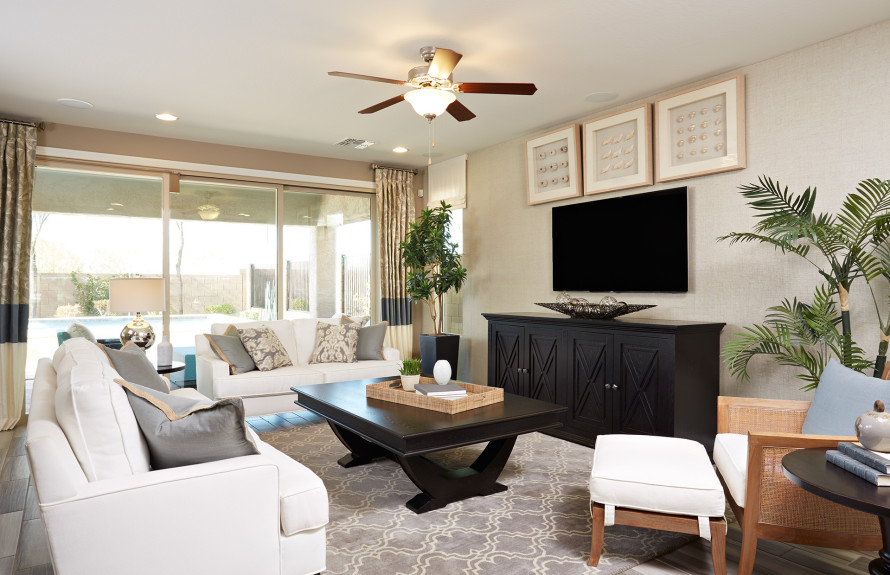 Plateau Plan: Open Gathering Room to kick back and relax in style