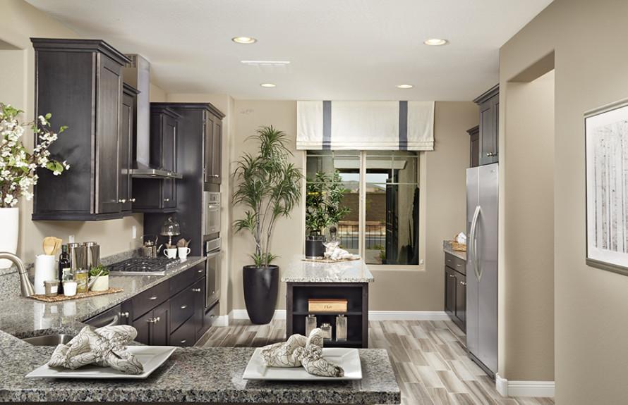 Plateau Plan: Spacious and elegant kitchen