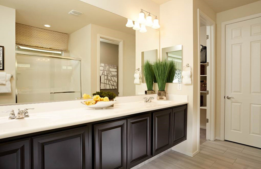 Creosote Plan: Elegant Owner's Bath