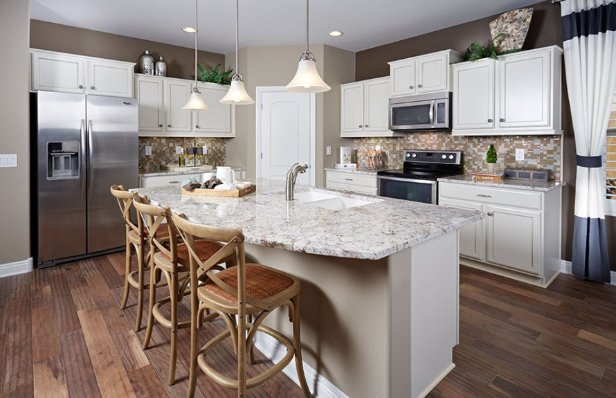 Creosote Plan: Open kitchen perfect for entertaining guests