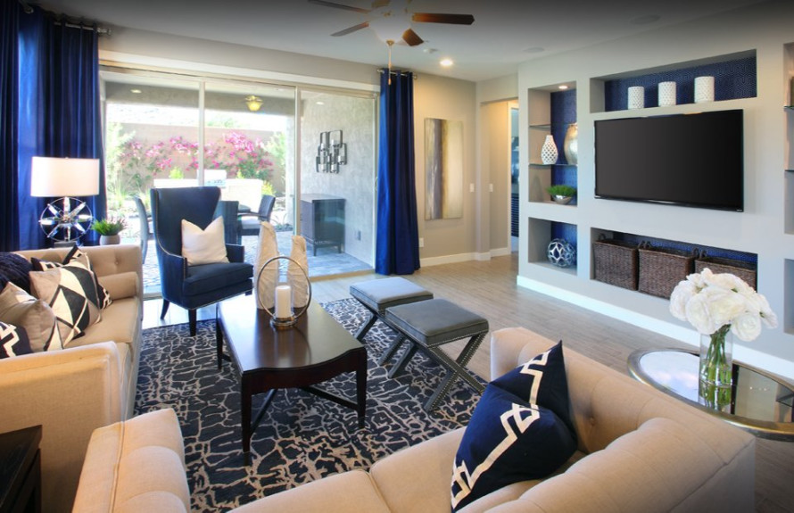Manzanita Plan: Spacious Gathering Room, perfect for hosting movie nights with friends and family