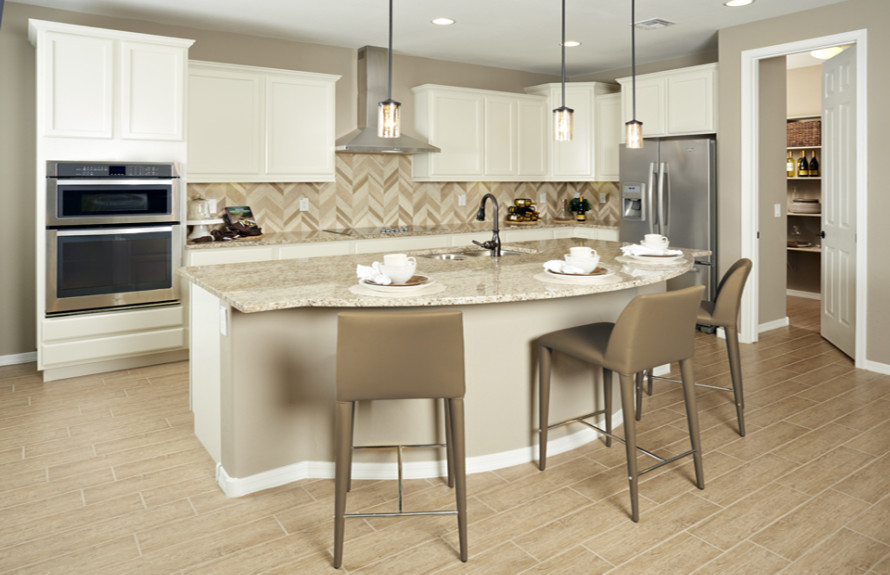 Butte Plan: Spacious kitchen, perfect for entertaining guests
