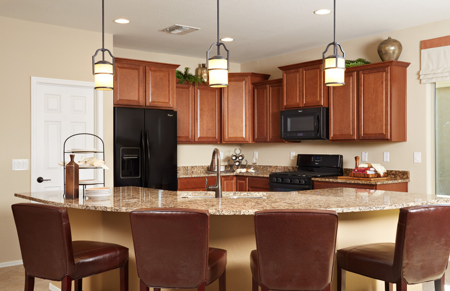Senita Plan: Open kitchen, perfect for entertaining friends and family