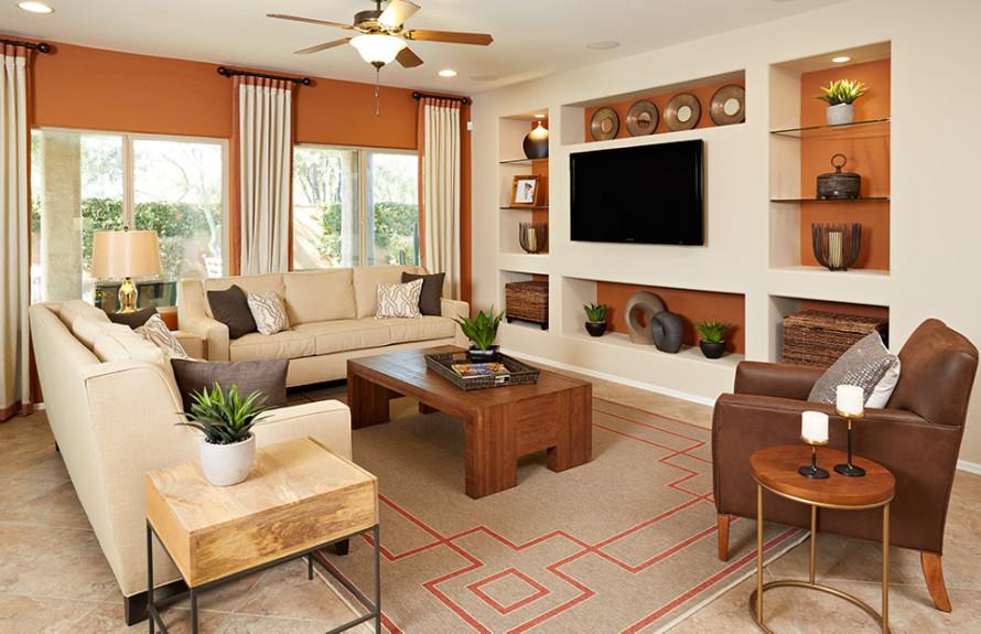 Senita Plan: Spacious Gathering Room, ideal for entertaining guests