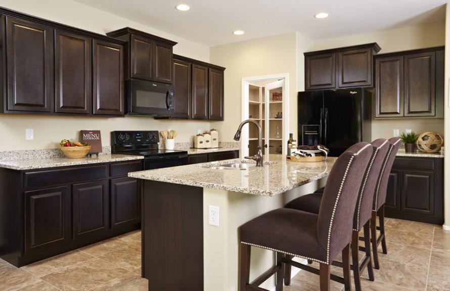 Ridge Plan: Modern luxury kitchen with stunning appliances