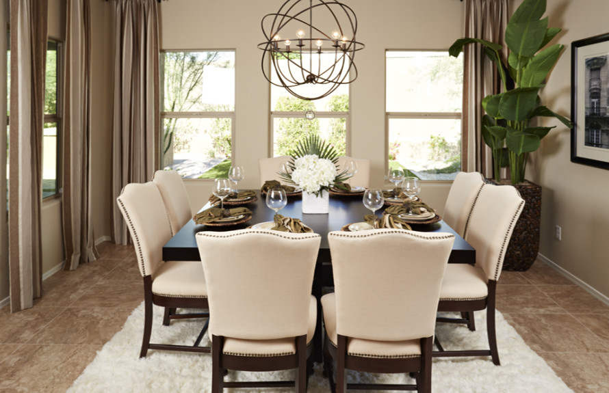 Ridge Plan: Enjoy dinner with friends and family at this spacious and functional den