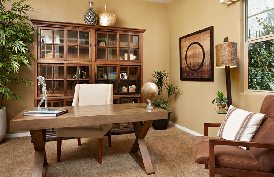 Quinlan Plan: Spacious Den for your home office