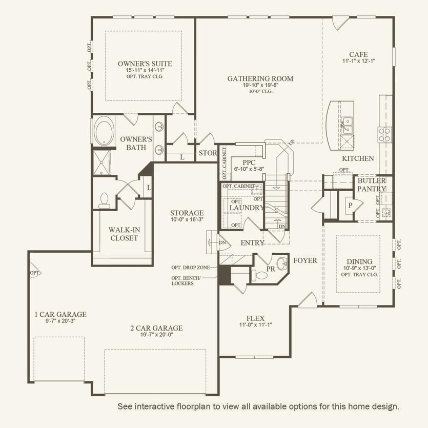 vanderbilt new home plan | westfield, in | pulte homes new home
