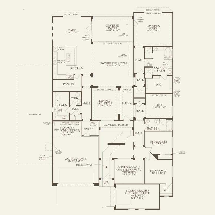 patagonia new home plan | tucson, az | pulte homes new home