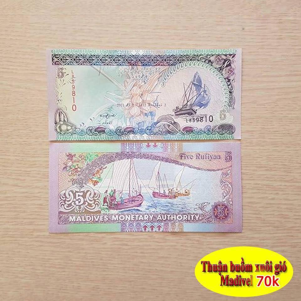 Bộ tiền thuận buồm xuôi gió Maldives