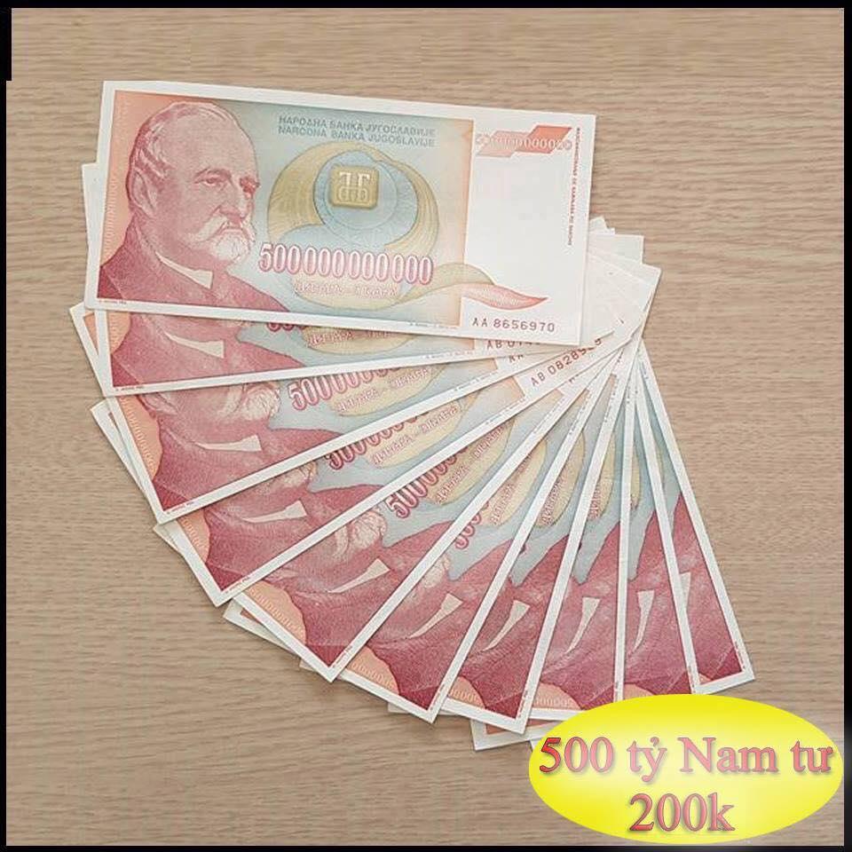 500 tỷ tiền Nam Tư