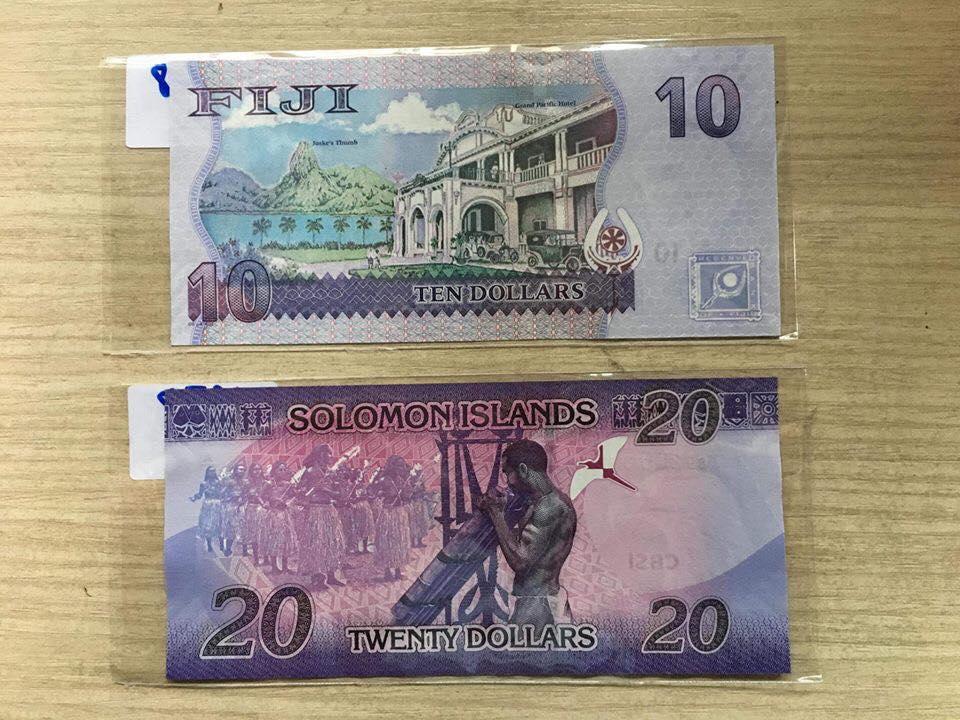 Tờ 20 Đô  quần đảo Solomon