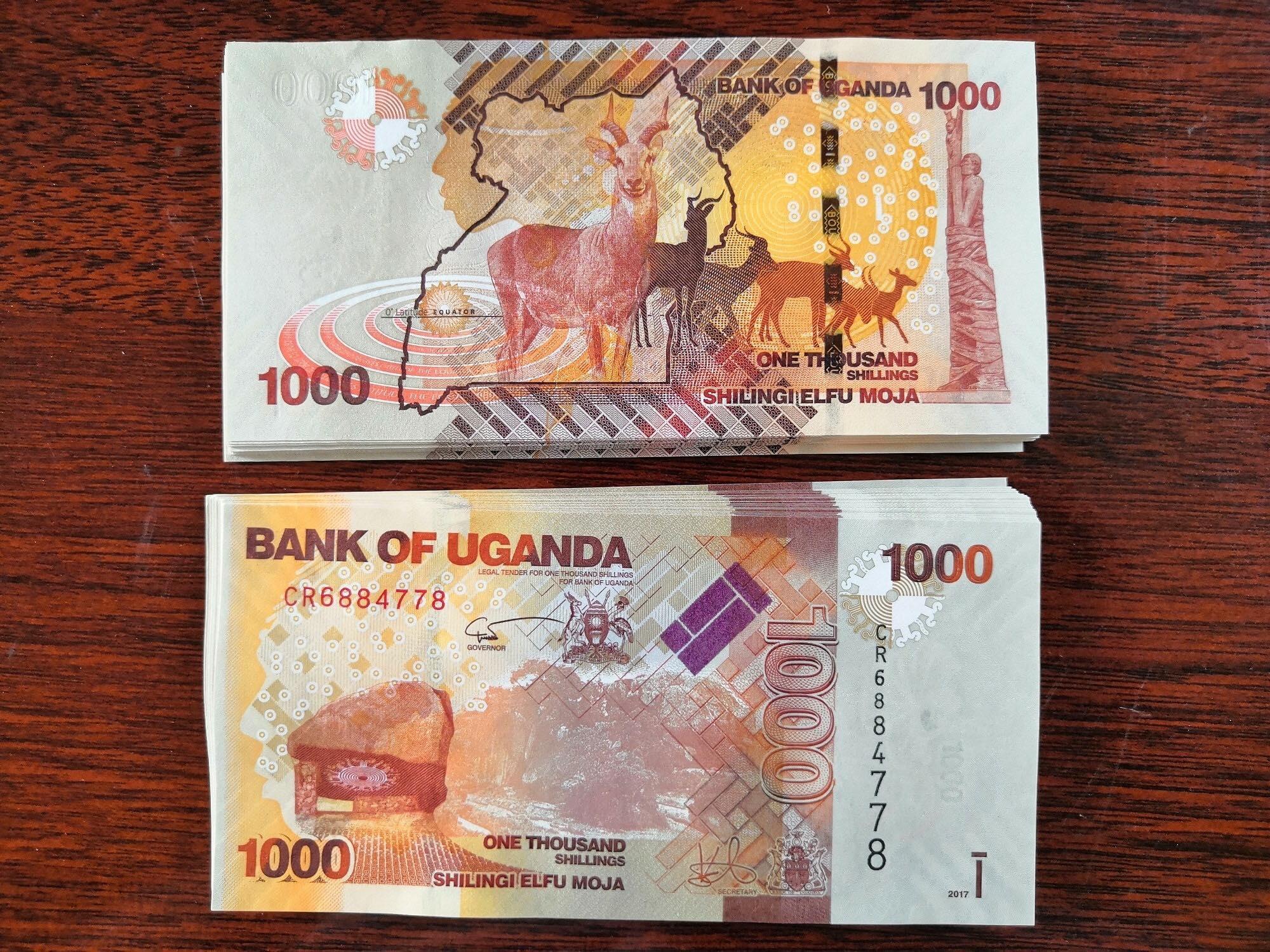 1000 Si Linh (Siling) Uganda