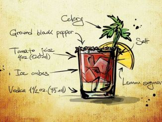 bloody mary koktejl recept