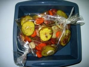 Говядина в рукаве с овощами - фото шаг 5