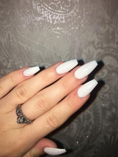 Gel acrylic nails tumblr