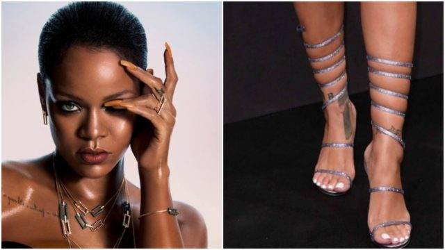 Celebrities foot worship