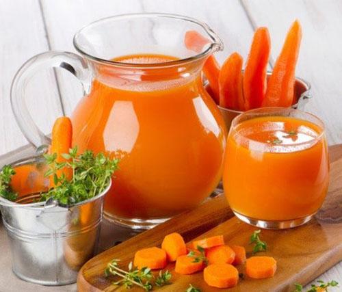 Морковный сок на зиму без сахара