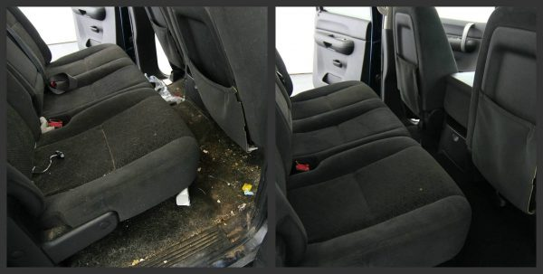 Чем почистить салон автомобиля в домашних условиях