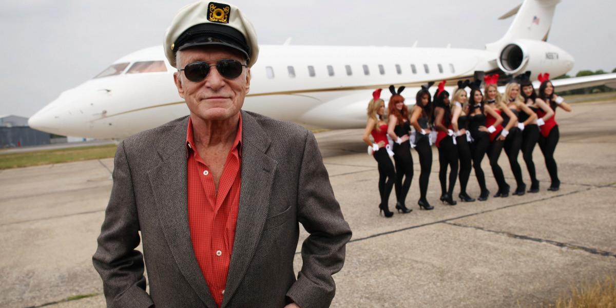 Playboy hugh hefner age