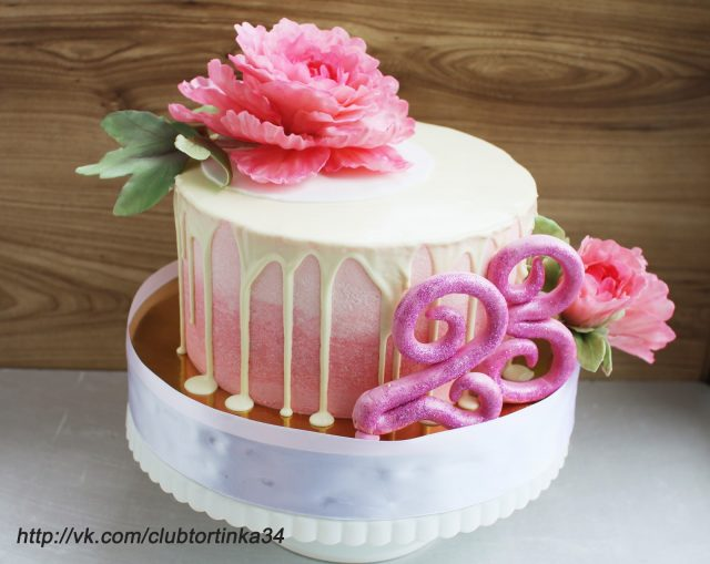 Фото торт кремовый для мамы