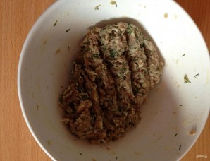 Зразы картофельные с мясом в духовке - фото шаг 4