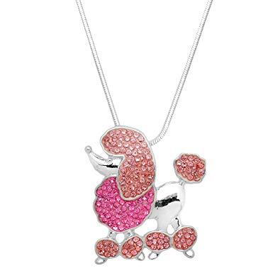 Pink poodle jewelry