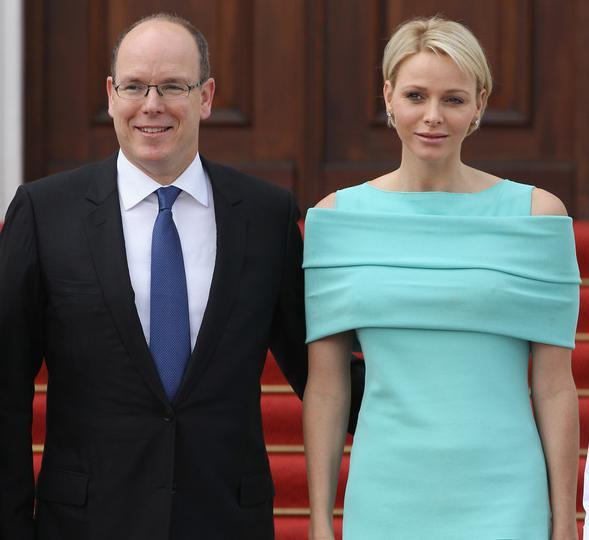 Князь монако его жена