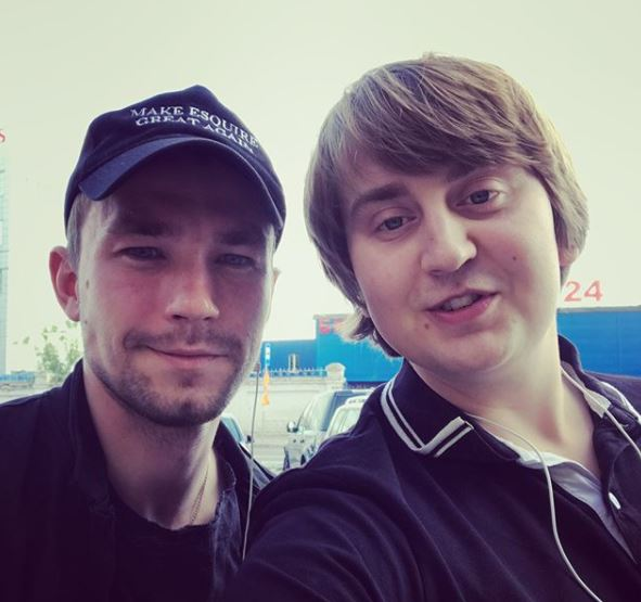 Александр Петров и Артур Бичакиан