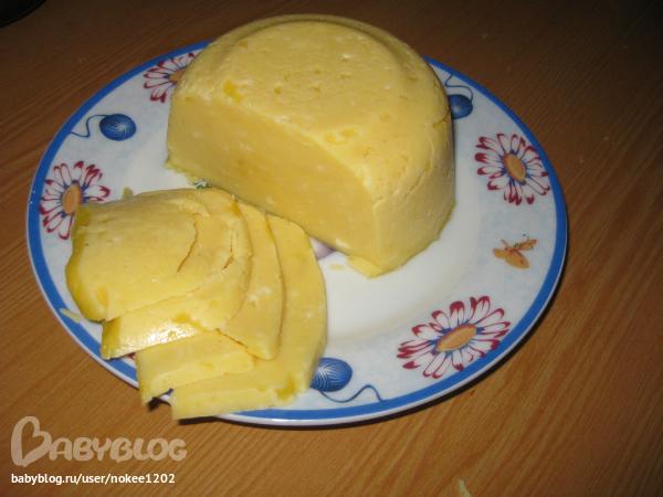 Сыр твердый в дом условиях