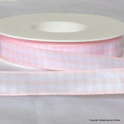 Small pink ribbon bows