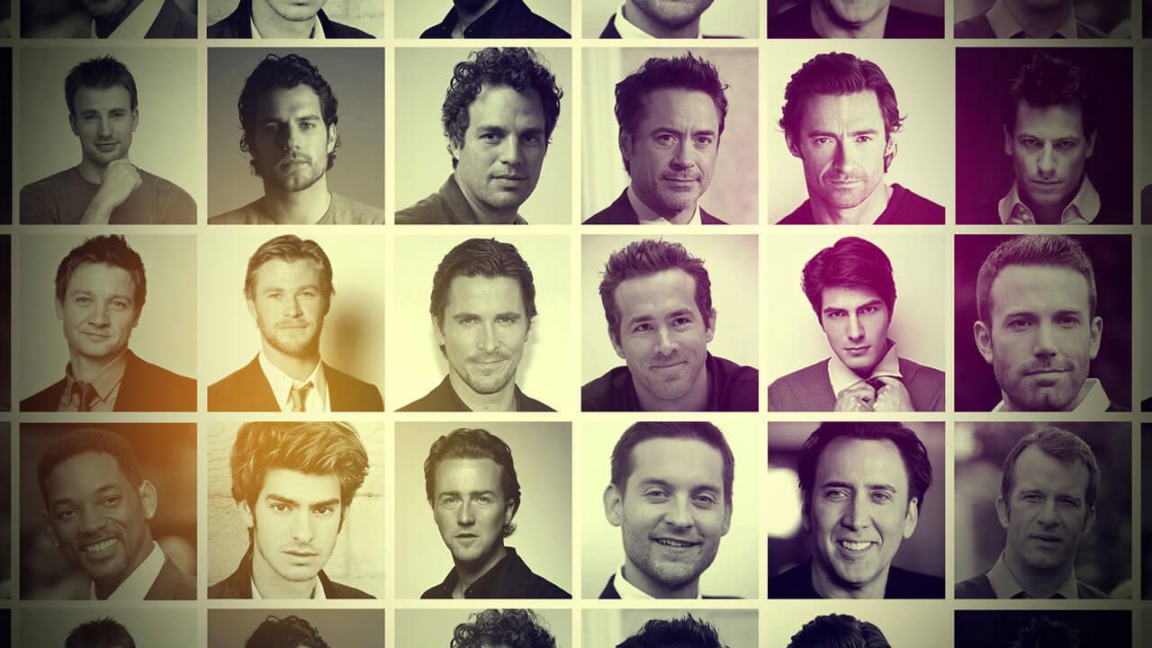 Имена красивых актеров фото
