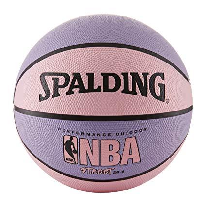 Pink basket ball
