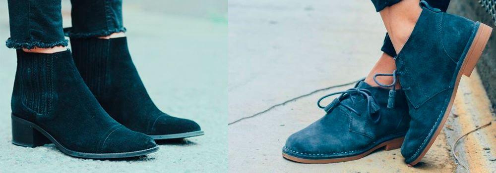Обувь из нубука как покрасить